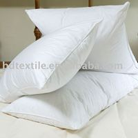 white duck feather pillow