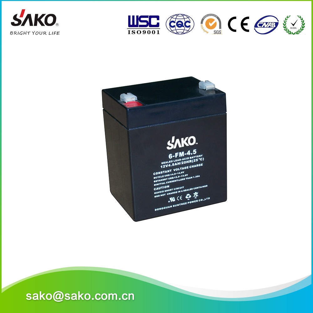 4.5ah Storage Battery , Deep Cycle Solar Battery