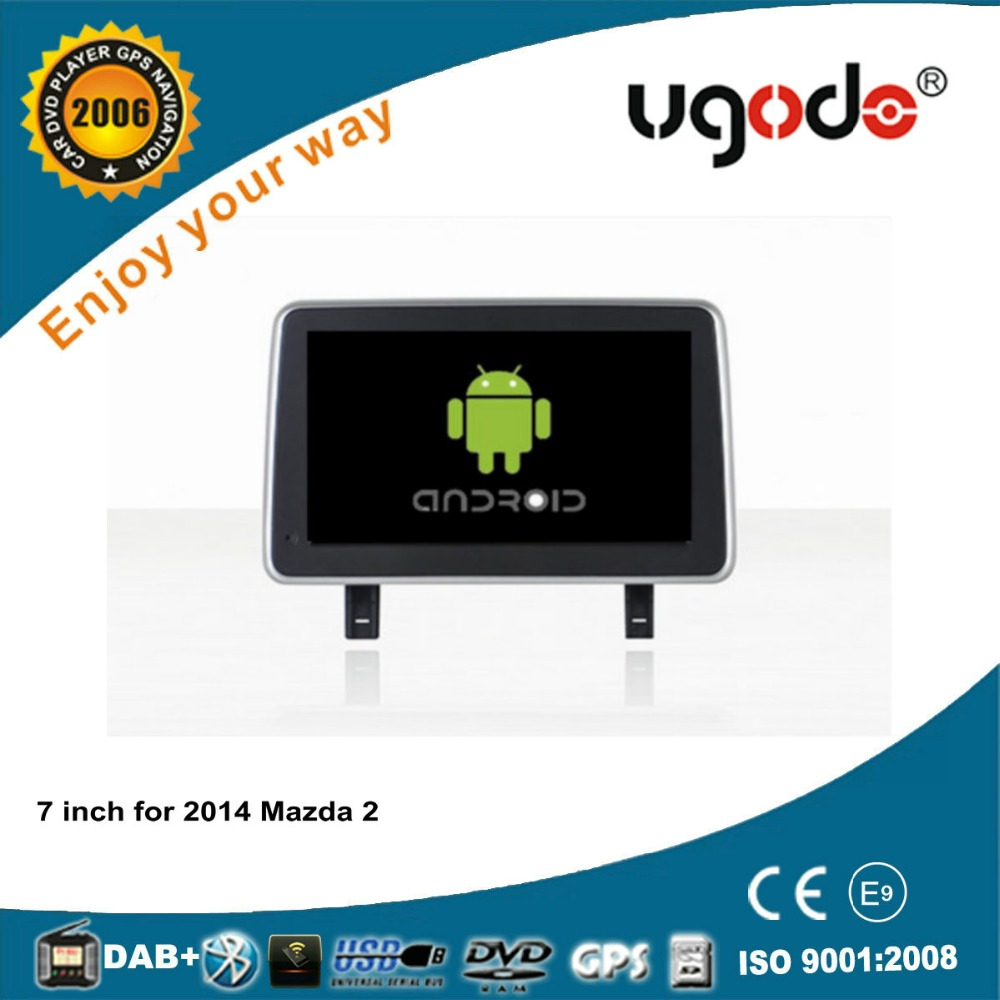 For 2014 Mazda 2 android 7 inch car auto radio with GPS navigation