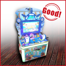 amusement ride new type arcade fishing game machine with HD video children play game slot machine