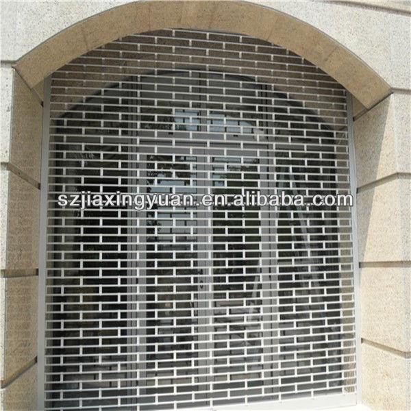 Aluminum Rolling Doors : Security grille aluminum rolling shutter door buy