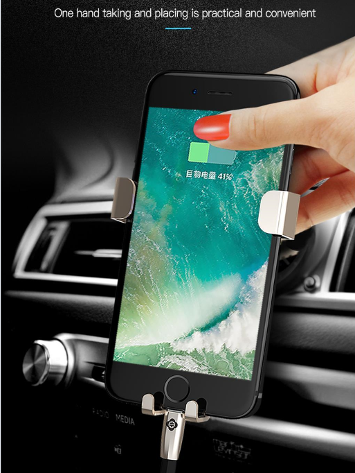 TOTU U Shield Exquise Version Car Mobile Phone Holder Car Cellphone Holder For Iphone For Android For Xiaomi
