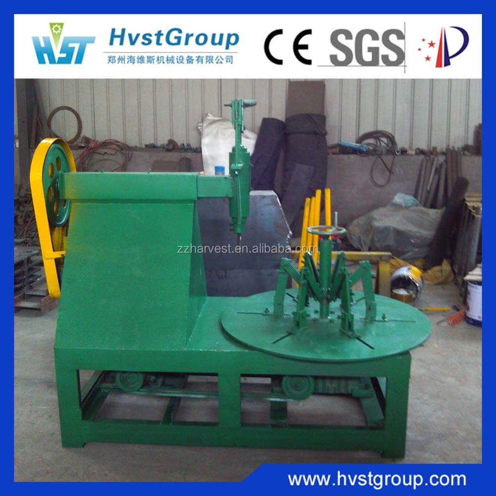 High quality waste tire rubber strip cutting machine