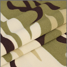 China factory price breathable plain tricot camo 100 polyester mesh fabric