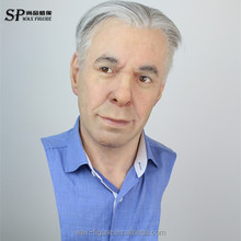 handmade human lifesize wax figures for sale, wax figure, realistic silicone mask