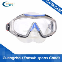top class train mask of scuba diving gear