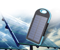 Solar wall charger ,H0T mobile solar battery charger , solar mobile charger with emergency led