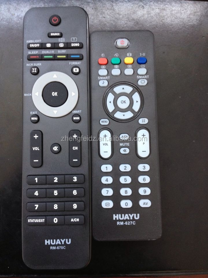 lcd/led remote control for tv RM-670C RM-627C