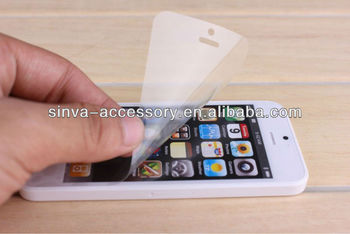 Professional screen guard factory for Touch 5/iPhone 5