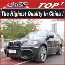 X5M style Durable PU X5 E70 body kits for BM-W body fit for X5