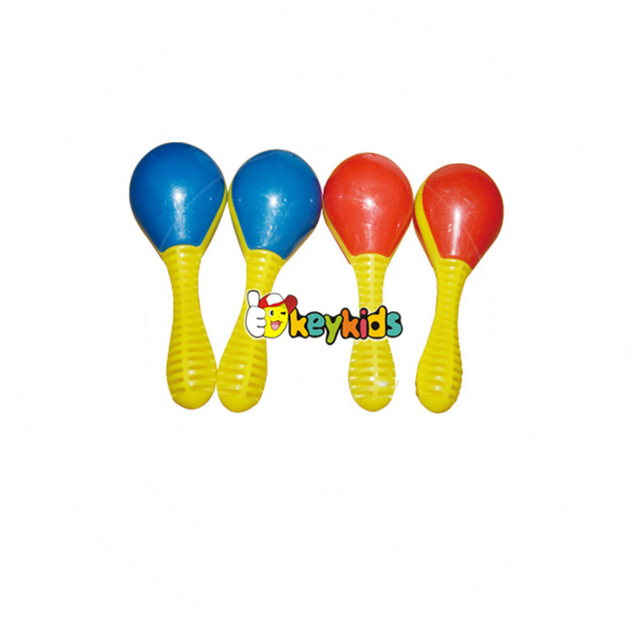 Wholesale educational baby plastic toy maracas customize plastic toy maracas best mini plastic toy maracas for kids W07I073