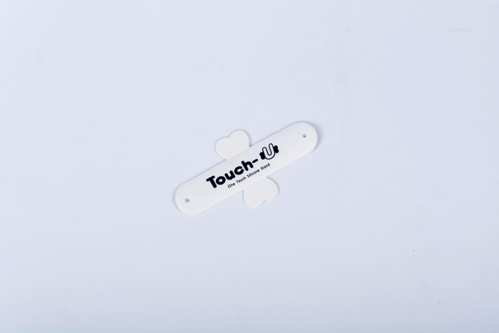 Small single color touch u stick mobile phone card holder