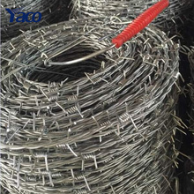 Advantage price 200m 400m roll hot dip galvanized barbed wire fencing manufacture in philippines