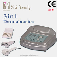 Portable 3 in 1 best Ultrasonic microdermabrasion Cold and hot hammer facail beauty machine with CE YS-Ms07