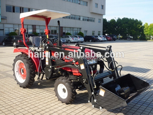 JINMA 254 tractor 25hp 30hp 40hp best quality agriculture tractor with front-end loader tractor price list