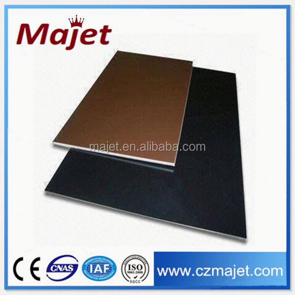 Alibaba China Changzhou factory Aluwecan High Quality Ceramic Aluminum Composite Panel