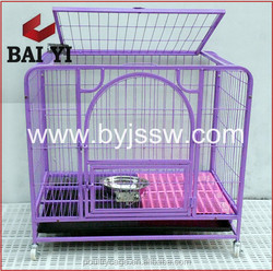 Galvanized Steel Dog Kennel & Collapsible Colored Large Metal Dog Kennel For Wholesale On Alibaba