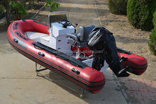 2016 CE Approved 19 feet China RIBs Rigid Aluminum Hull Inflatable Boat