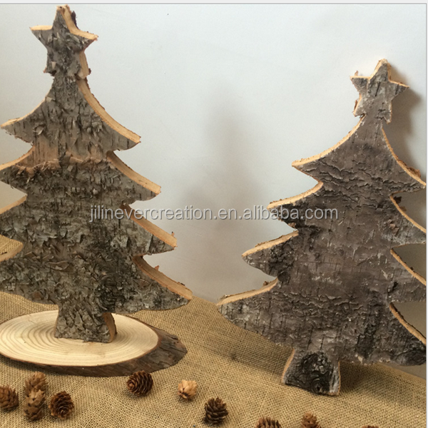 new products 2016,handmade decorative wooden christmas tree,natural wood christmas tree