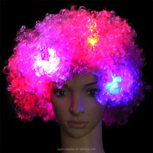 Wig Factory Price Led Rainbow wigs