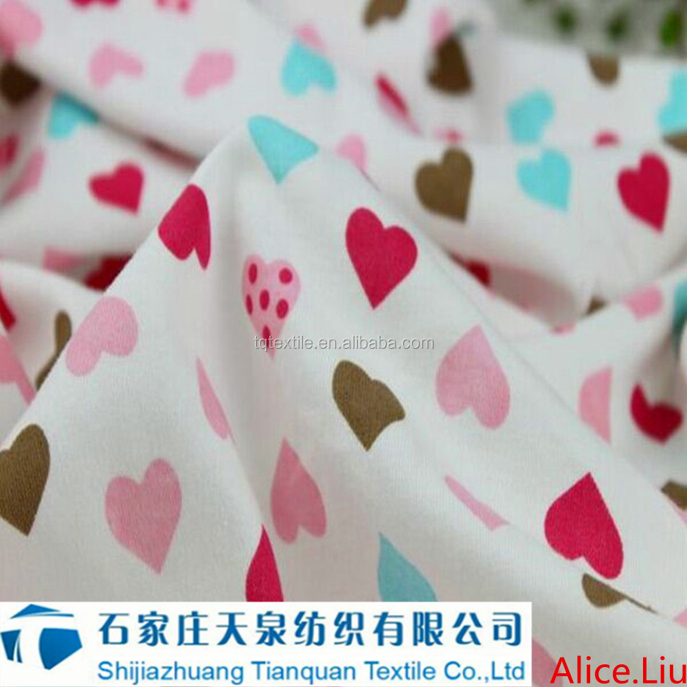 Factory Price 100% cotton printed solid dyed baby gap flannel for pajamas from hebei of China