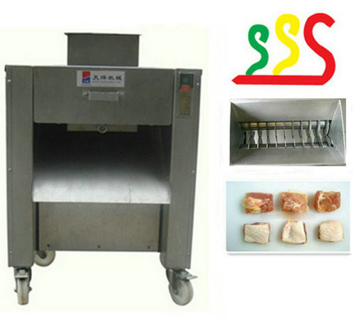2014 Hot selling chicken meat cutting machine