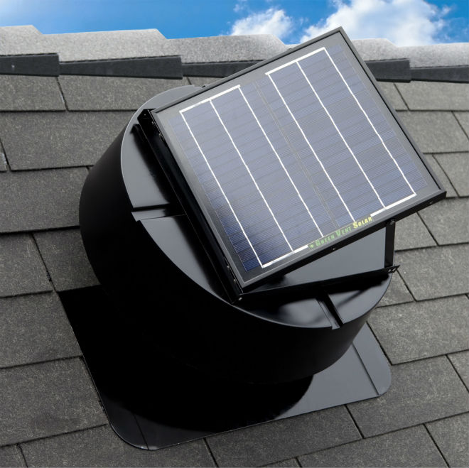 Solar Attic Exhaust Fan