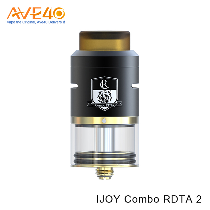 2017 New Products RDTA Atomizer Original IJOY Combo RDTA 2