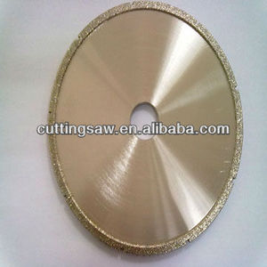 electroplated cutting stone marble diamond saw blade