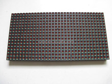 indoor/outdoor p7.62/ p10 /p16/p20/p25 32*16 single color tri-color rgb led display module