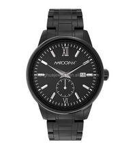 Popular Black Plated Health Magnetic Energy Watch