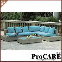 2017 New style rattan luxury sofas furniture for outdoor