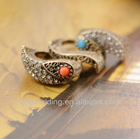 Combinations of the three diamond ring fashion ring finger rings photos