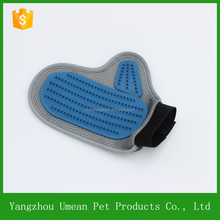 2016 fashion wonderful pet comb pet grooming gloves