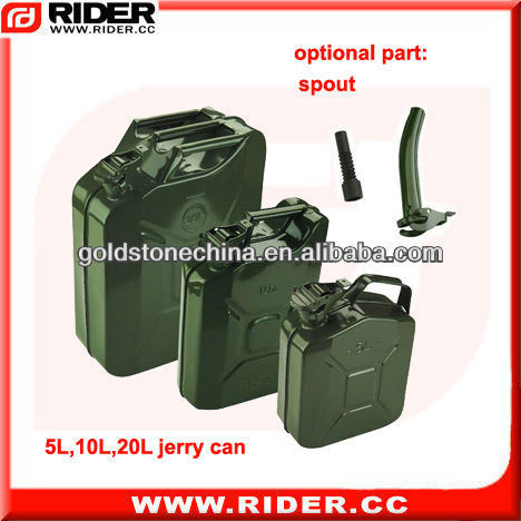 5L/10L/20Ljerry can gas can,jerry can holder,oil can with spout