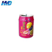 Colorful printing beverage tin can/with easy open lid/good quality