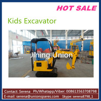 kids sand excavator Coin Controlled electric excavator, kids ride on toy excavator