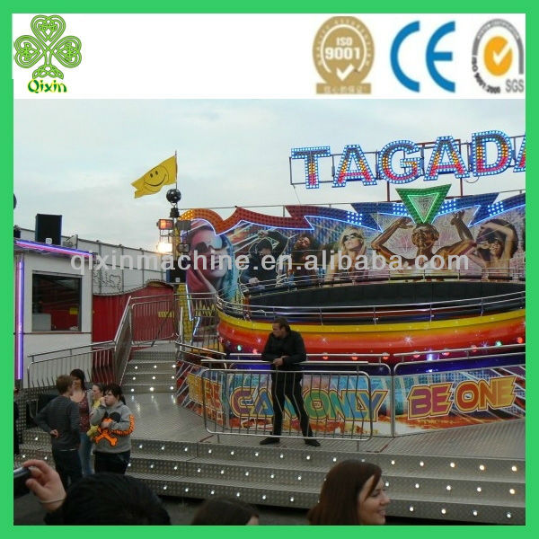 Theme park thrill attraction rides disco tagada for sale