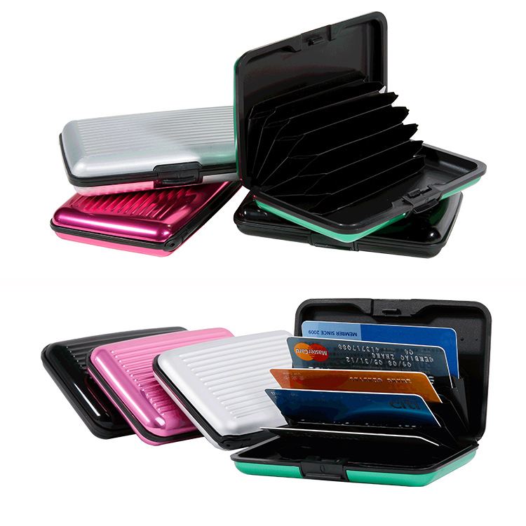 13648 High Quality Useful Aluminum Credit Card Holder Wallet