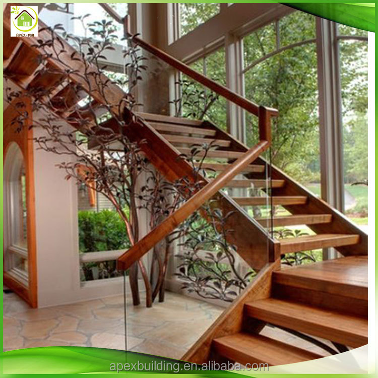<strong>Wood</strong> stairs <strong>Oak</strong> solid <strong>wood</strong> stair railing /wooden solid balustrade