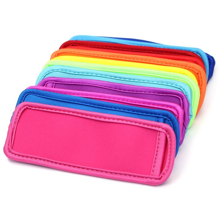 Hot-selling Colorful Cheap Neoprene Popsicle Sleeve