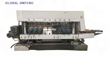 JFD-20 Motor Glass straight line double grinding and processing machine for building glass