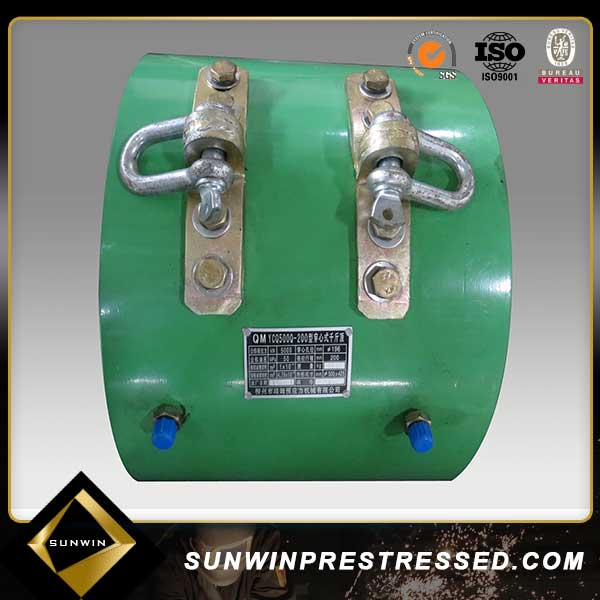 Factory Prestressed concrete machine High Pressure Hydraulic Jack for Post Tensioning