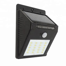 20 LED PIR Sensor Solar Light with IP65 Waterproof wall lamps