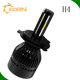 automatic high quality G5 G20 G21 L5 L5D L5S dual color LED high power led headlight h4 h1 h13 9005 9006 9007