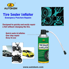 600ml Car tire inflator spray instant tire repair spray OEM