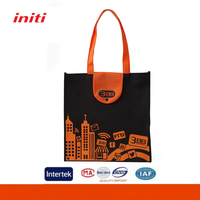 Customized Shopping carry non woven foldable recycle bag