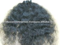 indian virgin remy temple hair weft