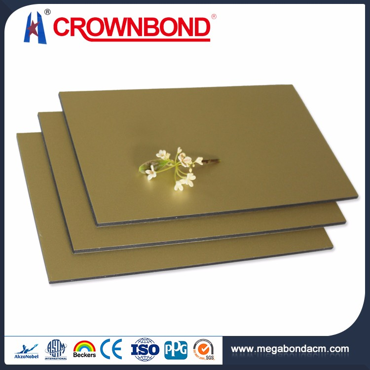 Crownbond Best Quality PVDF/PE aluminum roof cladding