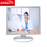 4:3 square lcd monitor 15 inch white case medical lcd monitor for sale